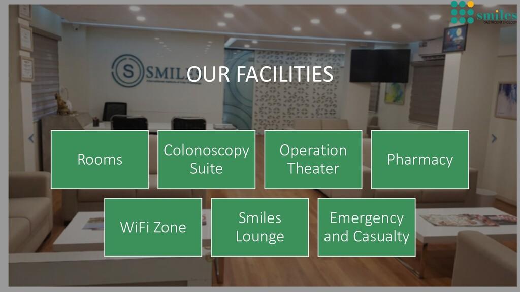 OUR FACILITIES Rooms Colonoscopy Suite Operatio...
