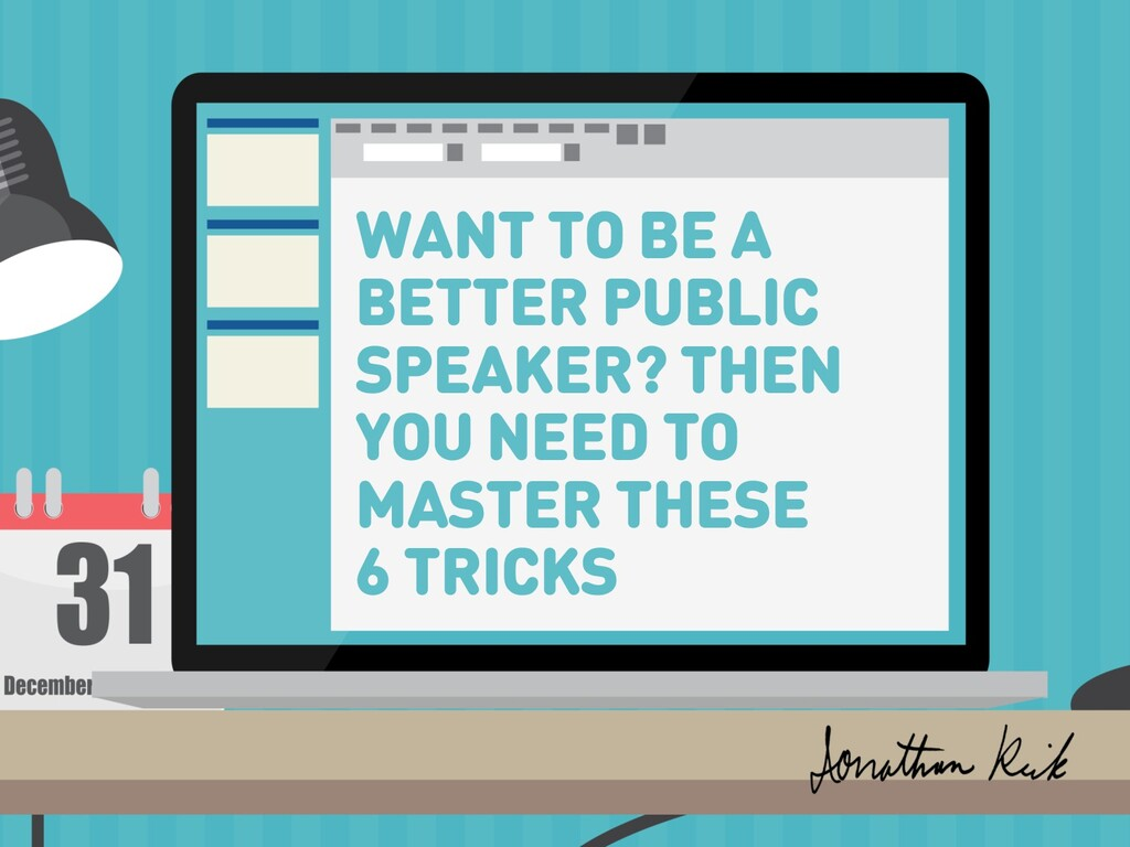 WANT TO BE A BETTER PUBLIC SPEAKER? THEN YOU NE...