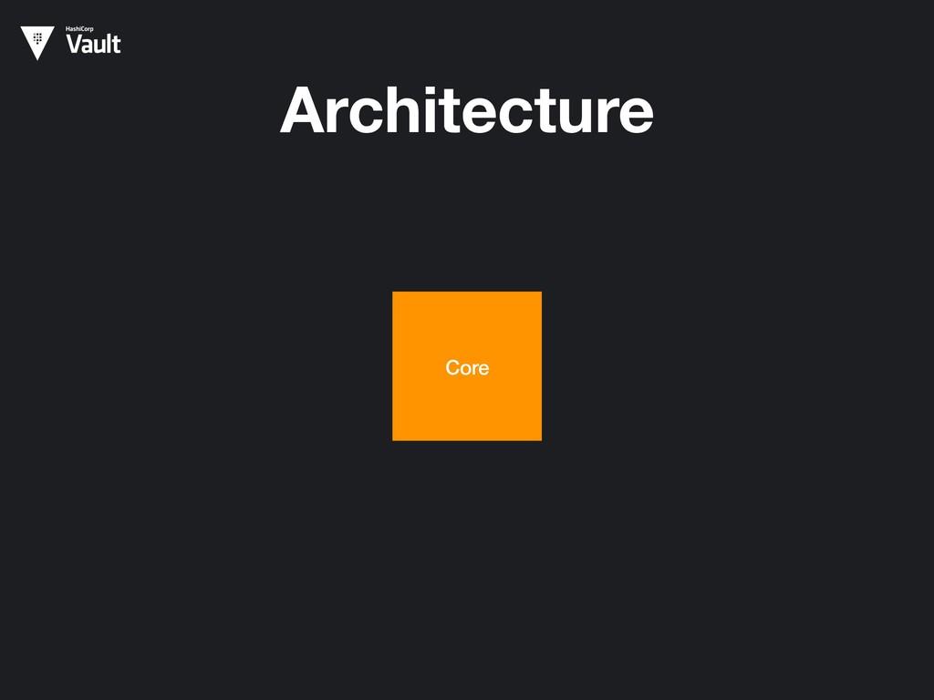 Architecture Core