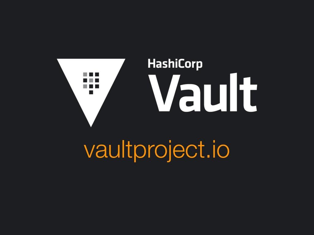 vaultproject.io