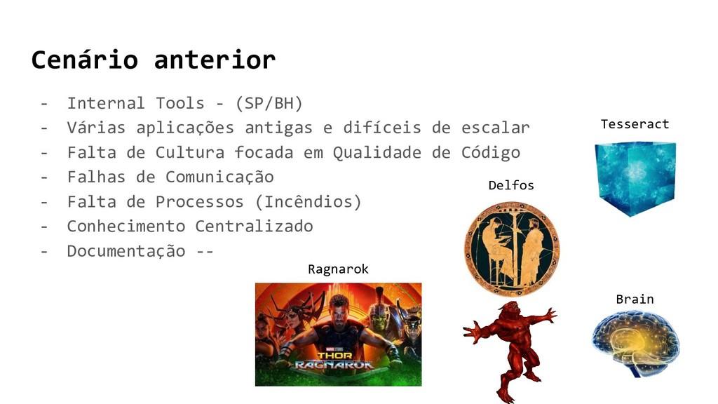 Cenário anterior - Internal Tools - (SP/BH) - V...