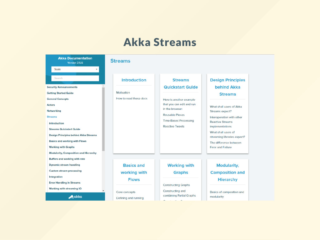 Akka Streams