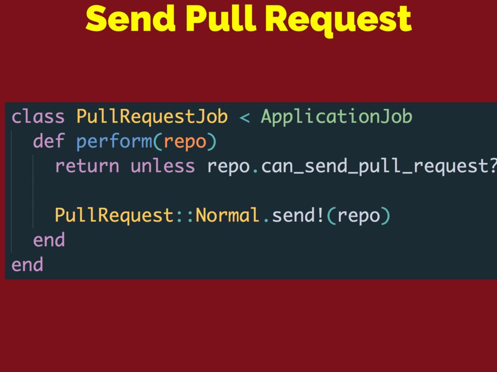 Send Pull Request