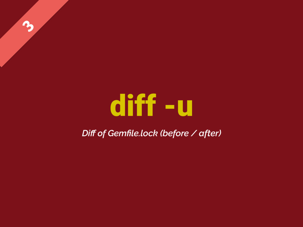 diff -u  Diff of Gemfile.lock (before / after)