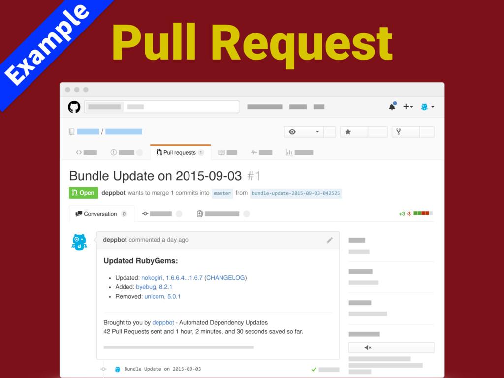 Pull Request &YBN QMF