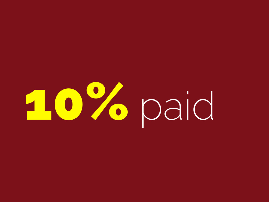 10% paid