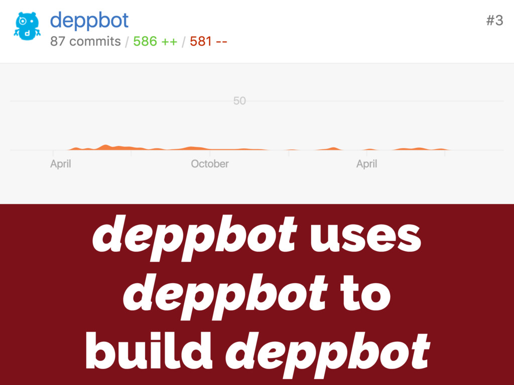 deppbot uses deppbot to build deppbot