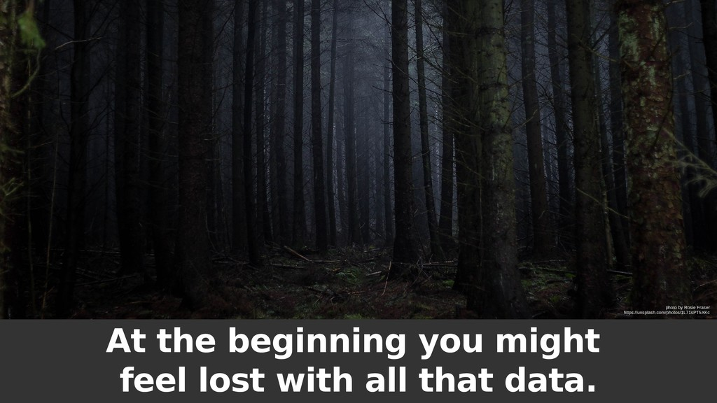 At the beginning you might feel lost with all t...