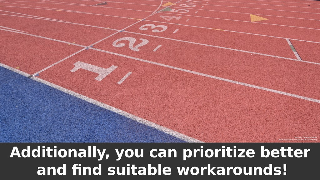 Additionally, you can prioritize better and fin...