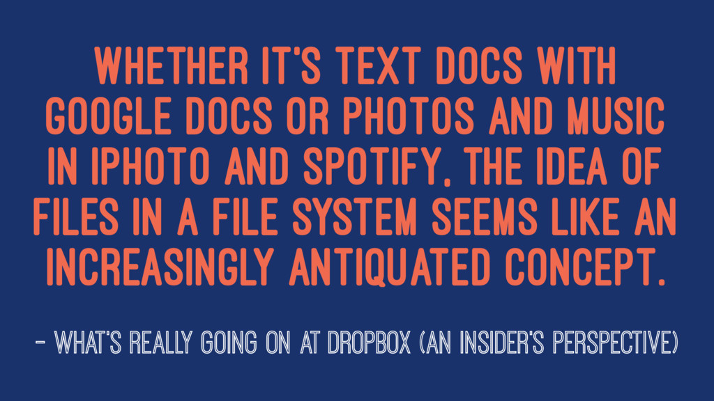 Whether it's text docs with Google Docs or phot...