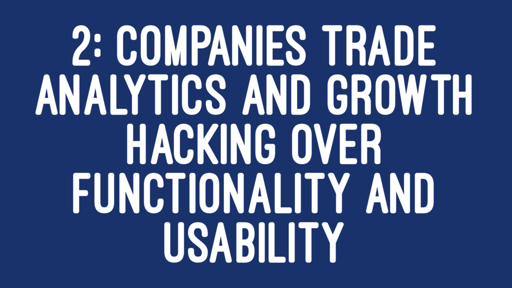 2: COMPANIES TRADE ANALYTICS AND GROWTH HACKING...
