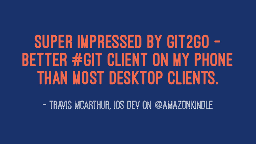 Super impressed by Git2Go - better #git client ...