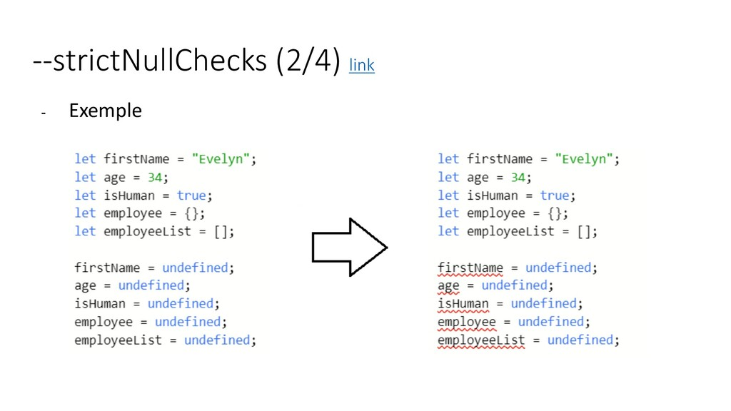 --strictNullChecks (2/4) link - Exemple