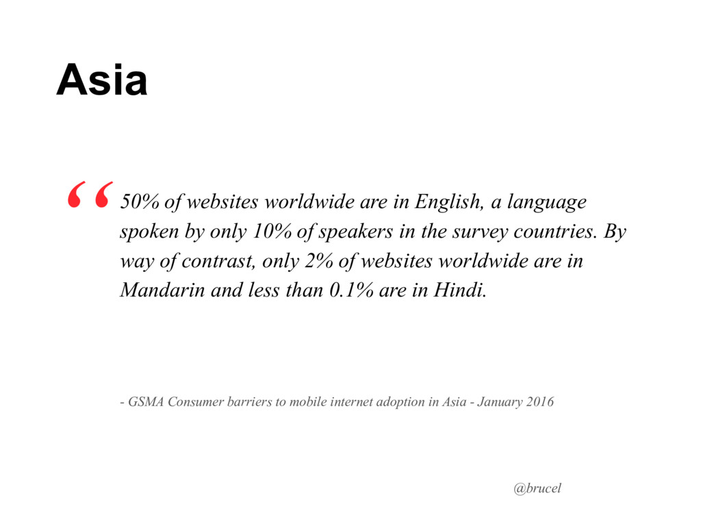 @brucel 50% of websites worldwide are in Englis...