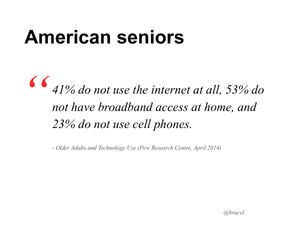 @brucel 41% do not use the internet at all, 53%...
