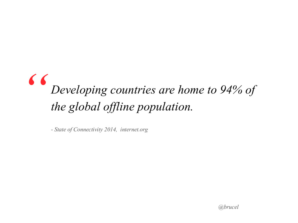@brucel Developing countries are home to 94% of...