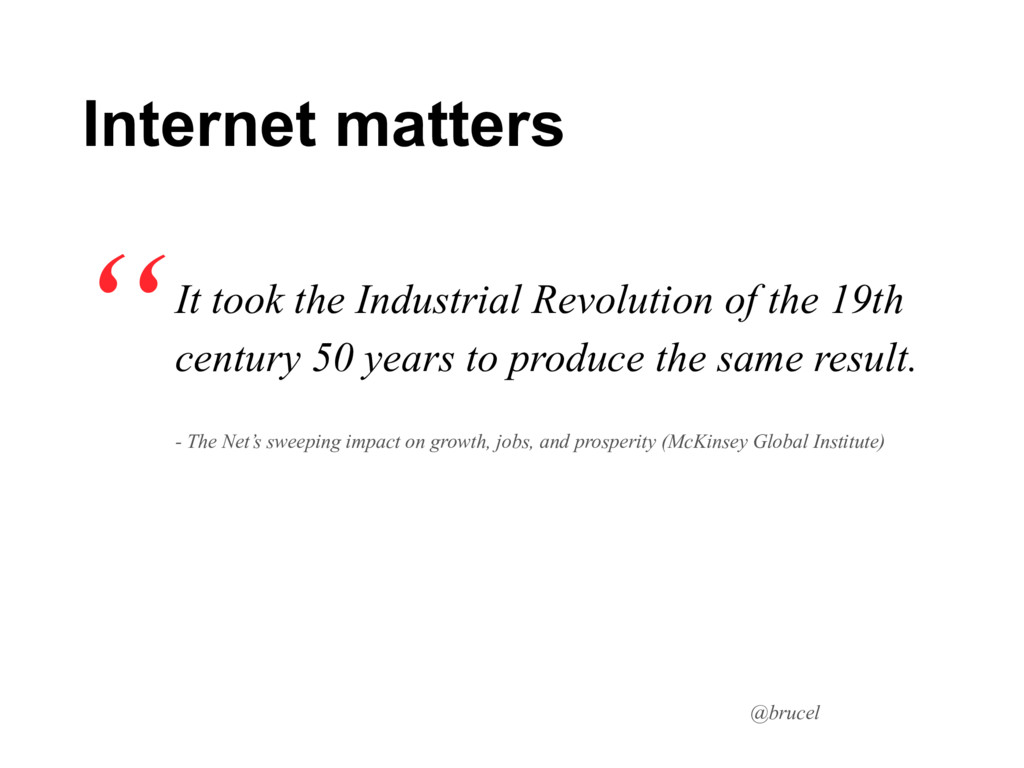 @brucel It took the Industrial Revolution of th...