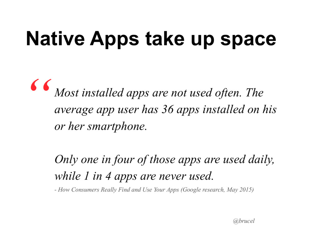 @brucel Most installed apps are not used often....