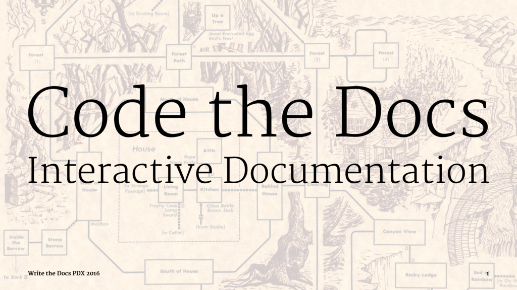 Code the Docs Interactive Documentation Write t...