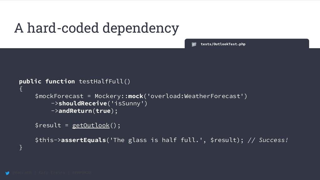 @maccath | Katy Ereira | #PHPUK20 tests/Outlook...