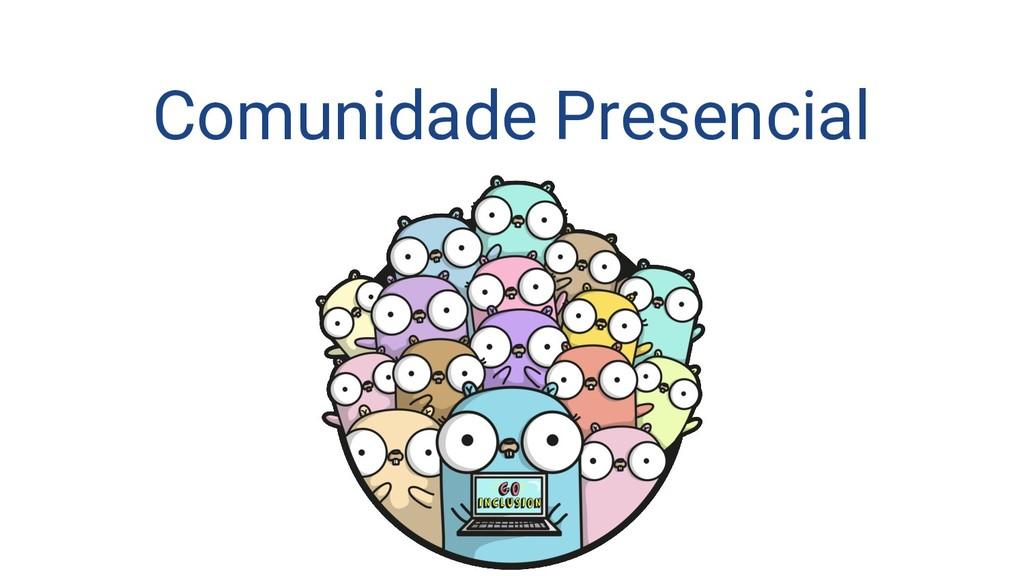 Comunidade Presencial