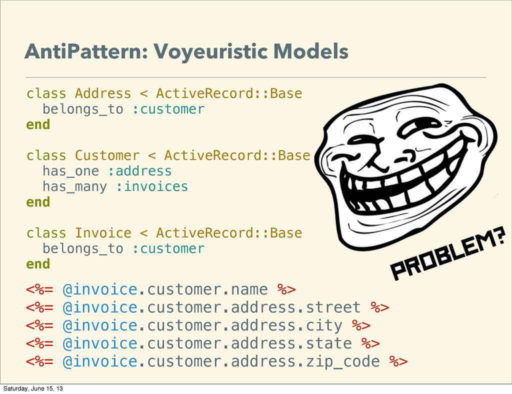 AntiPattern: Voyeuristic Models <%= @invoice.cu...
