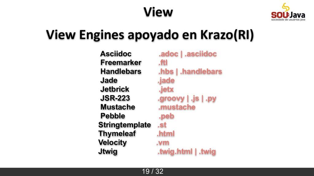19 / 32 View View Engines apoyado en Krazo(RI) ...
