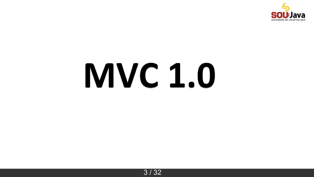 3 / 32 MVC 1.0