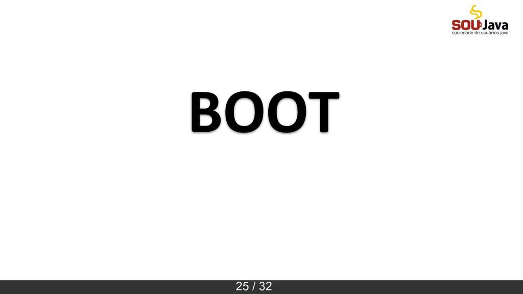 25 / 32 BOOT