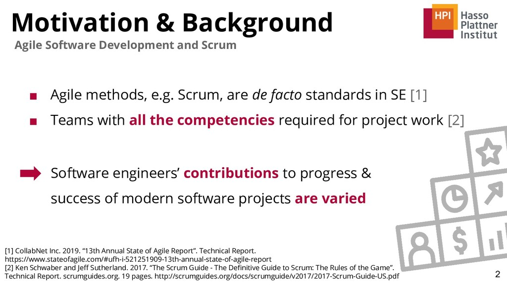 Motivation & Background 2 Agile Software Develo...