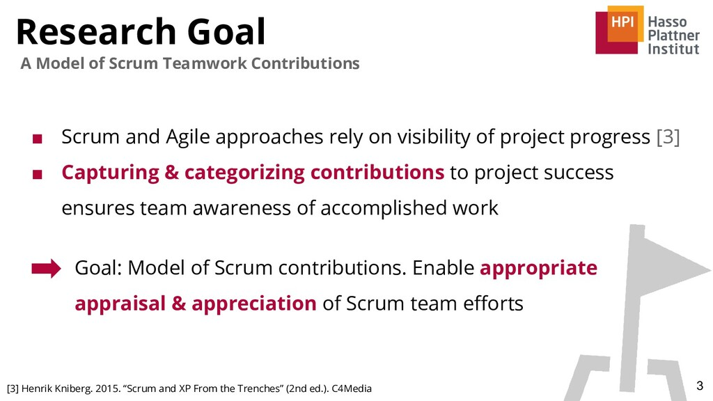 Research Goal 3 A Model of Scrum Teamwork Contr...