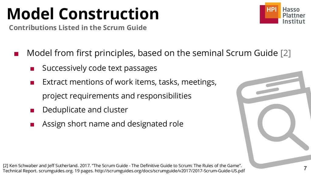 Model Construction 7 Contributions Listed in th...