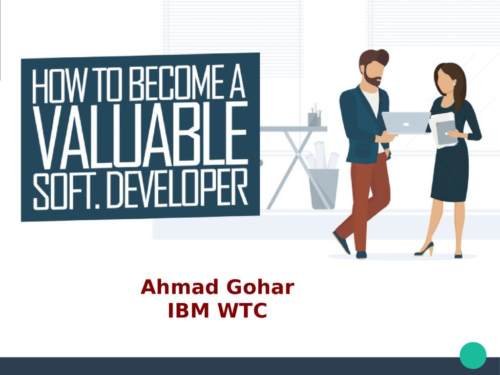 Ahmad Gohar IBM WTC
