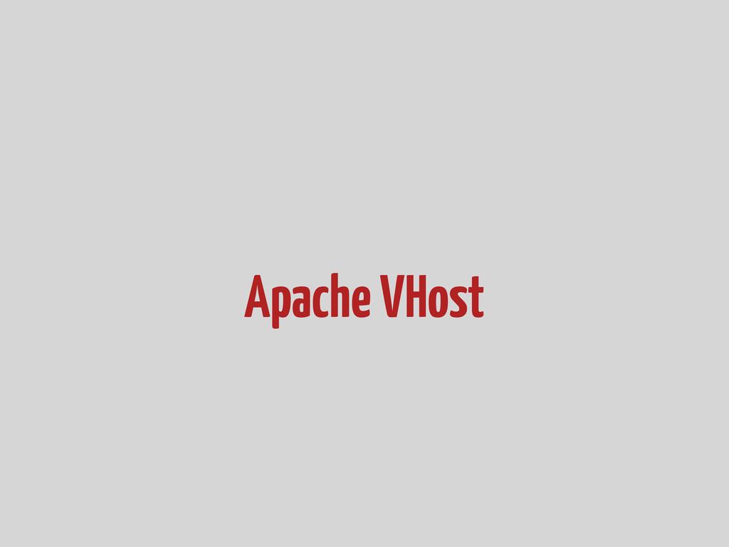 Apache VHost