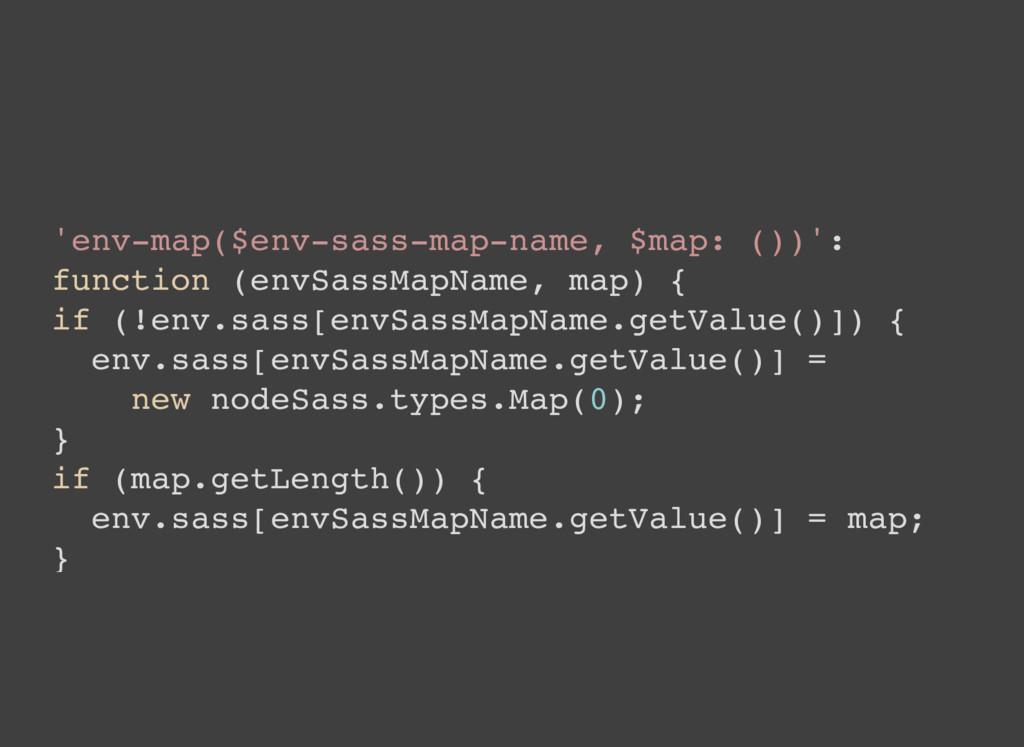 'env-map($env-sass-map-name, $map: ())': functi...