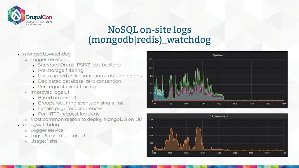 NoSQL on-site logs (mongodb redis)_watchdog ● m...