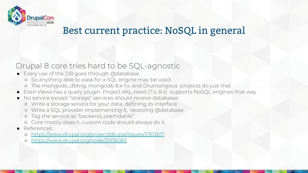 Best current practice: NoSQL in general Drupal ...
