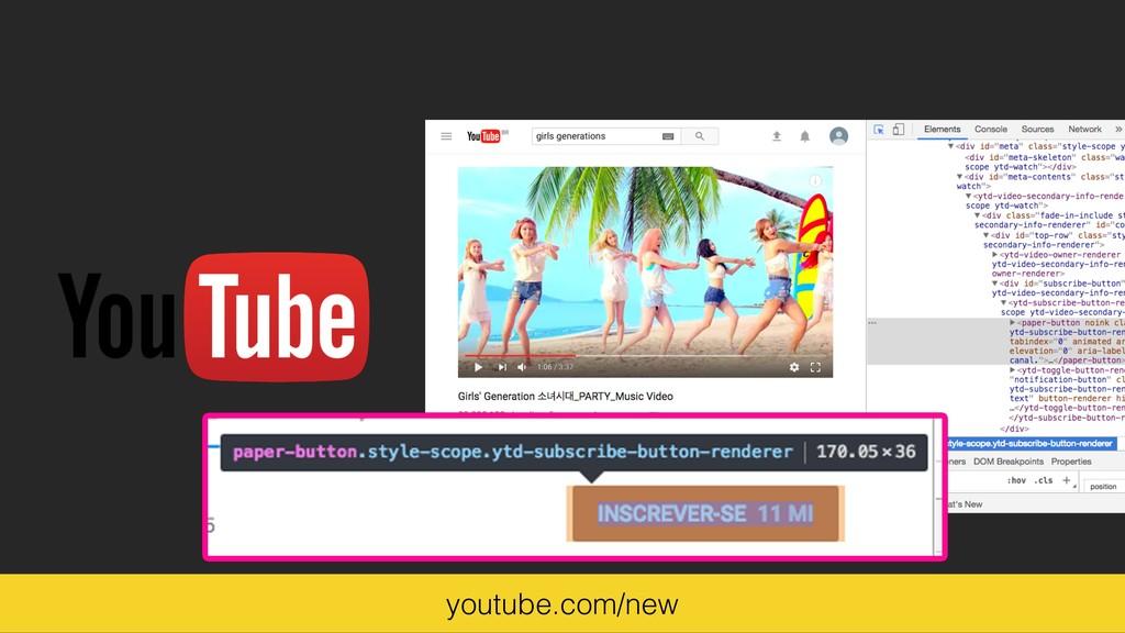 youtube.com/new