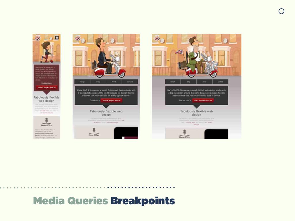 Media Queries Breakpoints