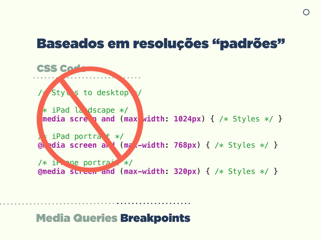 Media Queries Breakpoints CSS Code /* Styles to...