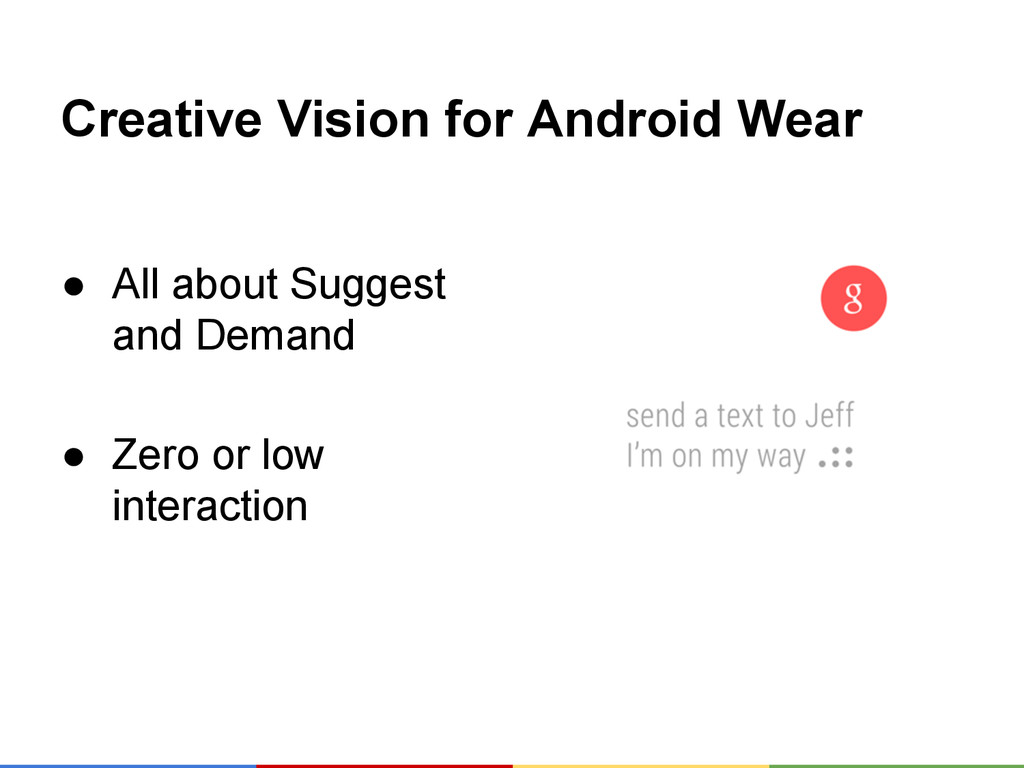 Creative Vision for Android Wear ● All about Su...