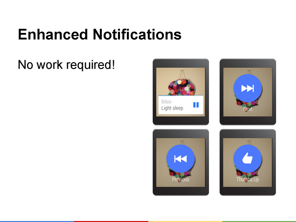 Enhanced Notifications No work required!