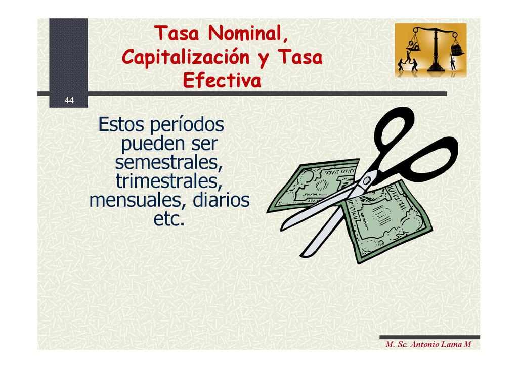 44 M. Sc. Antonio Lama M Estos períodos pueden ...