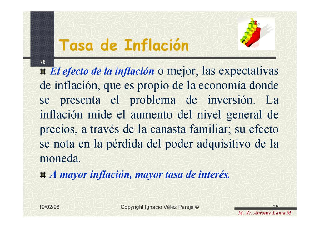 78 M. Sc. Antonio Lama M 19/02/98 25 Copyright ...