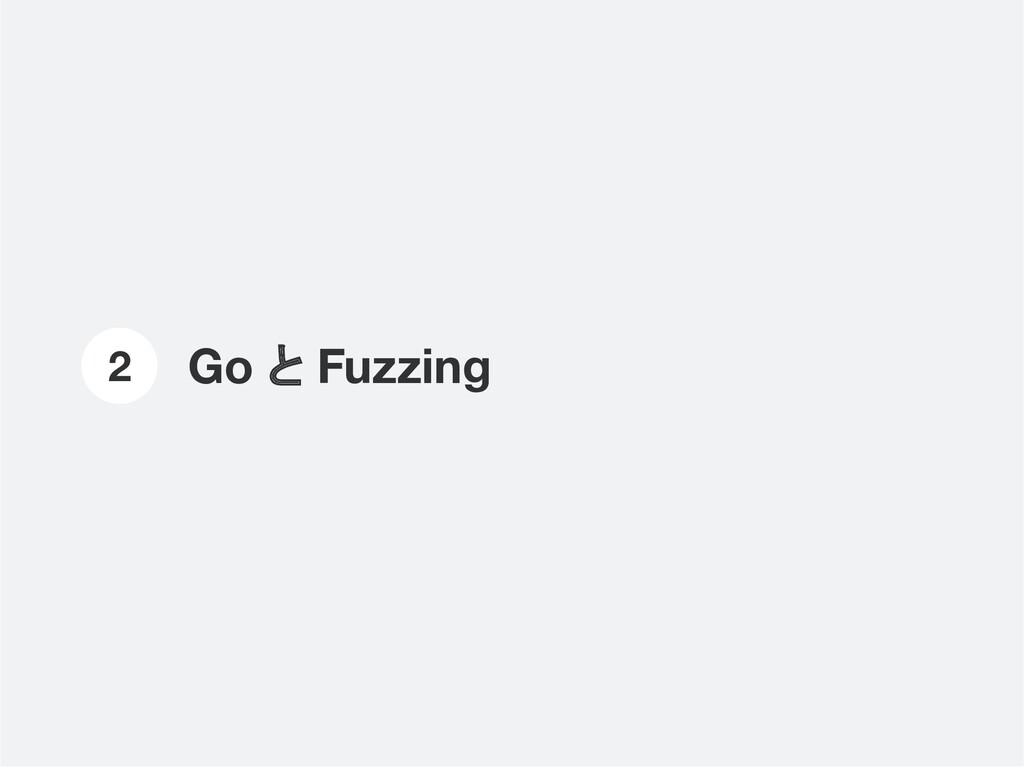 Go と Fuzzing 2