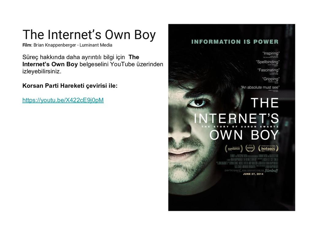 The Internet's Own Boy Film: Brian Knappenberge...