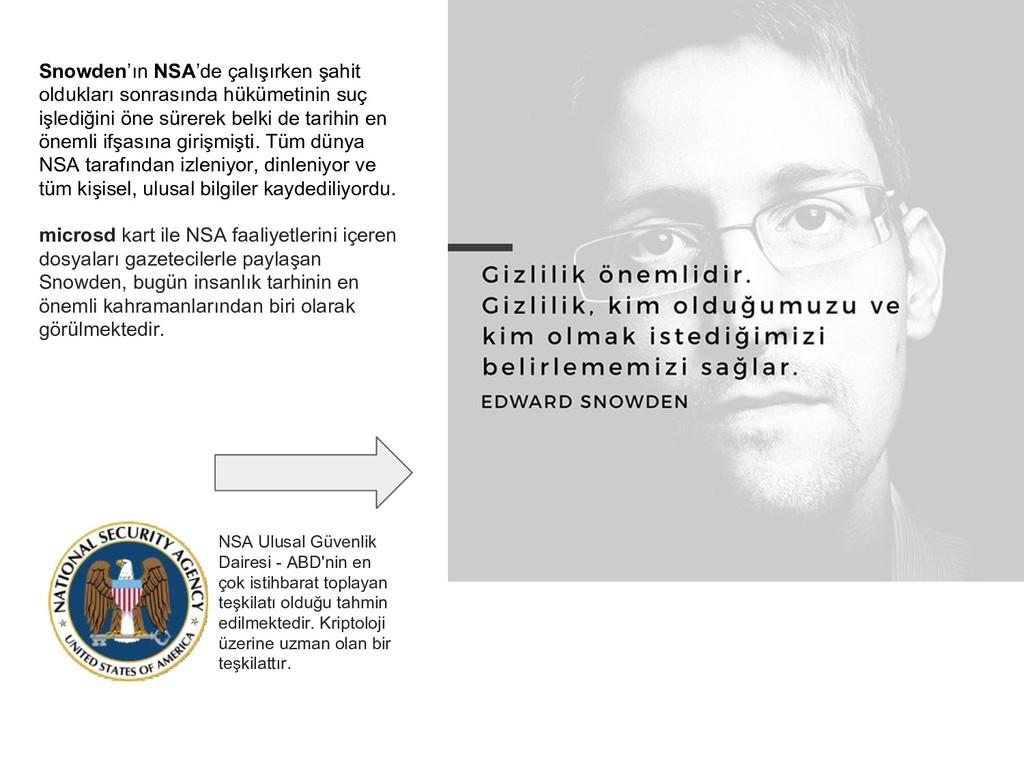 Snowden'ın NSA'de çalışırken şahit oldukları so...