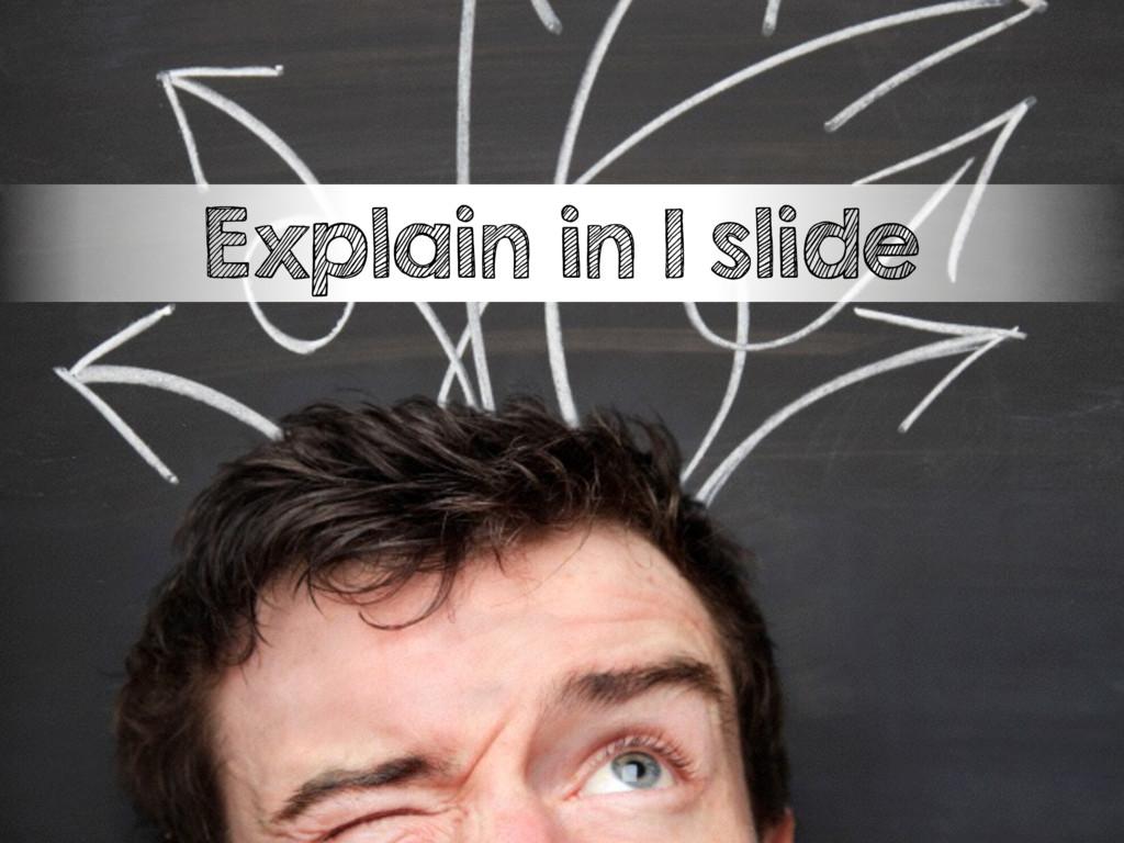 Explain in 1 slide