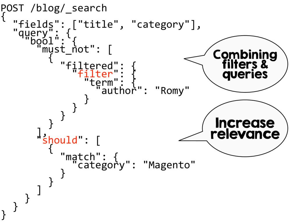 """POST /blog/_search { """"fields"""": [""""title"""", """"categ..."""