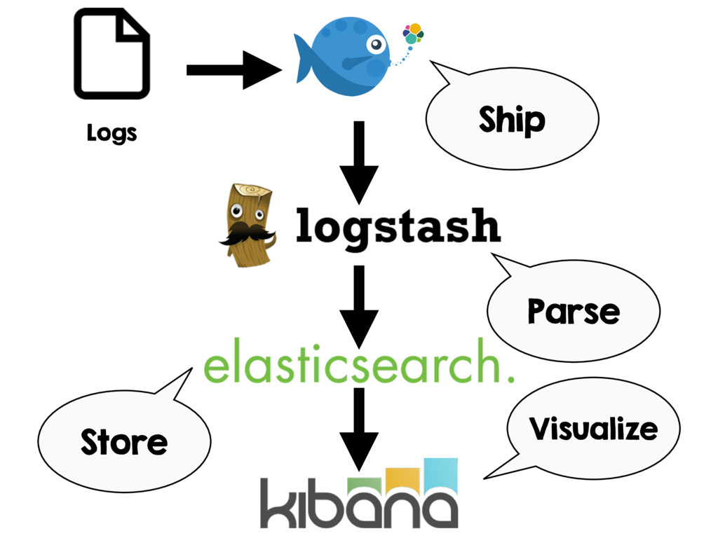 Logs Parse Store Visualize Ship